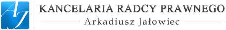 logo-Kancelaria Radcy Prawnego Arkadiusz Jałowiec